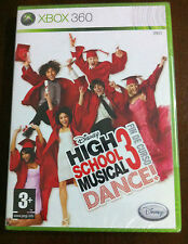 HIGH SCHOOL MUSICAL DANCE 3. FIN DE CURSO - DISNEY - XBOX 360 - NEW & SEALED