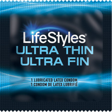 Lifestyles Ultra Thin Condoms - Choose Quantity 12-1000