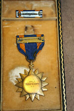 Rare WW2 U.S. Army Air Corps Air Medal w/Ribbon, Named 2nd Lt. Davis J. Kays AC