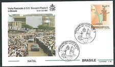 1991 VATICANO VIAGGI DEL PAPA BRASILE NATAL - SV2-2