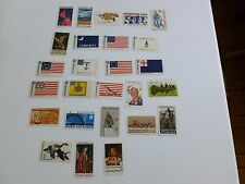 United States: Scott 1339  - 1364, the 1968 set of Commemorative stamps all mint