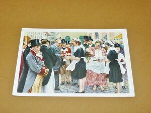 PHOTO CHOCOLAT COTE D'OR 1946 FOLKLORE BELGIQUE N°152 MENIN MENEN BRADERIE