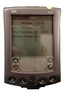 PALM m500 Pocket PC PDA Electronic Handheld Organizer - with Accessories