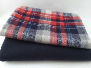 Wool Bundle ~ 2 remnant pieces