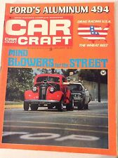 Car Craft Magazine Mind  Blowers For The Street January 1970 051617nonrh