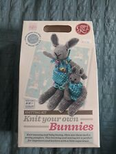 Knitting Kit Bunnies