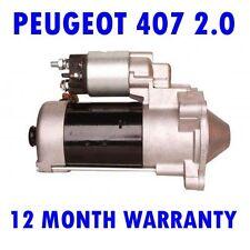 PEUGEOT 407 2.0 2004 2005 2006 2007 2008 - 2015 STARTER MOTOR