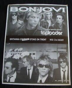 BON JOVI – TOPLOADER poster original record store promo