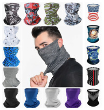 Face Mask Elastic Bandana Covering Cooling Reusable Scarf Neck Gaiter Breathable