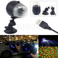 Mini RGB LED Ball Laser Projector Stage Light DJ Club Disco KTV Party Bar Lamp