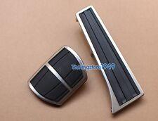 No drilling Fuel Brake Pedal Pad Covers BMW 2 5 6 7 Series E60 F10 F07 E63 F06