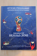 2018 FIFA WORLD CUP TOURNAMENT PROGRAMME (TREBLE PACKAGE BARGAIN DEAL)