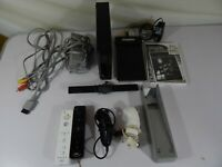 Wii RVL-101 Console Bundle with Controllers, Game and Accessories *Tested Works*