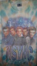New listing Vintage *Nsync PopOdyssey Tour Tye-dye Shirt 2001 Size M
