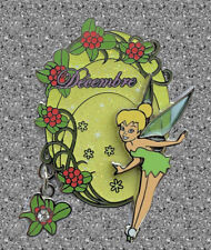 Tinker Bell Flower of Month pin  - December Holly - Disneyland Paris - DLP