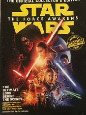 STAR WARS THE FORCE AWAKENS Official LUCAS Film LTD COLLECTOR's Edition Magazine
