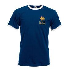 Retro France French Football Shirt TShirt,Soccer,Retro World Cup 74 1978 Platini