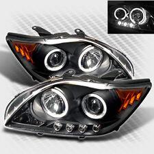 For 2005-2007 Scion TC Twin Halo LED Pro Headlights Black Head Lights Set Lamp