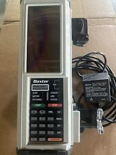 Baxter As50 Infusion Pump Auto Syringe Pump With Pole Clamp Charger Power Supply