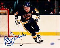 Bernie Federko St. Louis Blues Autographed 8 x 10 Hockey Photo