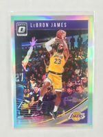 2018-19 Donruss Optic LeBron James # 94 Silver Holo Prizm 1st Lakers Card🔥