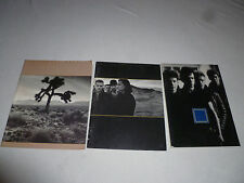 U2 SONGBOOK BOOK PROGRAM LOT OFFICIAL PORTFOLIO THE JOSHUA TREE BONO VINTAGE