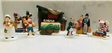 Department 56 Christmas Pudding Costermonger Lot of 7