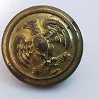 WW2 Iltalian militia eagle on fasces 16mm brass button