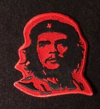 CHE Guevara Iron On Patch Applique Embroidered RED/BLACK