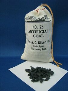 #23 Bag of Artificial Coal for American Flyer
