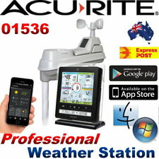 AcuRite 5 in 1 Wireless Professional Weather Station Color Monito Phoneapp 01536