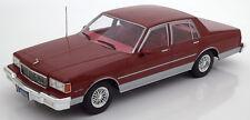MCG 1991 Chevrolet Caprice Classic Sedan Dark Red in 1/18 Scale New Release!