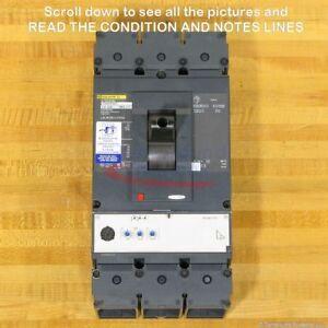 Square D LGL36250CU33XSA Circuit Breaker, 250 Amp, Micrologic, NEW!