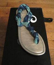 New Seychelles Thong Sandal - Aqua Green- Size 8.5m - MSRP $64.99