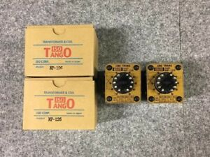 Tango NP-126 Linestage Pre-Amp Output Transformer Pair