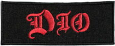 DIO Heavy Metal Embroidered Iron On Sew On Jacket Patch 3.5""