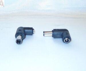 Netzteiladapterstecker Buchse 5.5*2.5(2.1)mm an 7.4mm Stecker HP COMPAQ DELL OVP