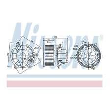 Fits Ford Focus MK1 ST170 Genuine Nissens Interior Heater Blower Motor Fan