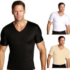 Insta Slim Con Cuello En V Reafirmante Compresión Slimming En Camisa