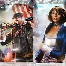 Signed Double Sided Bioshock Infinite Poster Print Rob Waters Concept Artist