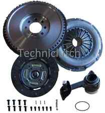 DUAL MASS TO SOLID FLYWHEEL, CLUTCH AND SLAVE BRG FOR A FORD MONDEO 115 5 SPEED