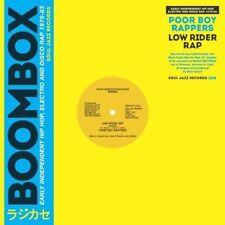 "Poor Boy Rappers - Low Rider Rap (LTD 500 Worldwide) VINYL 12"""