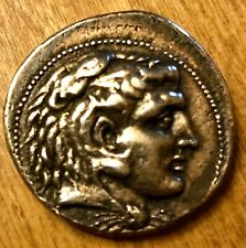 Alexander the Great Rare Tetradrachm Ancient Greek Silver Coin