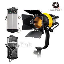 High CRI 5500/3200K Portable 50W LED Spotlight Continuous Lit+V-Lock For Video