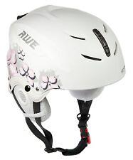 AWE® Ski Snowboarding Out Mould Helmet Kids/Junior Pink 52-56cm CE EN 1077