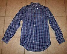 NWT Vineyard Vines Mens XS Slim Fit Lookout Plaid Button Front Tucker Shirt