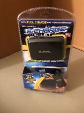 Bell + Howell E-Charge Wallet with RFID Protected Technology BRAND NEW! BLACK