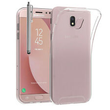 Housse Etui Coque TRANSPARENT Gel UltraSlim Samsung Galaxy J7 (2017) SM-J730F/DS