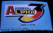 Street Fighter Alpha 3 CPSII PCB Arcade Video Game Capcom 1998