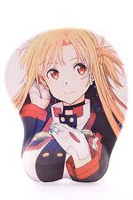 P-X-0938 Asuna Anime Manga Girl Mädchen ergonomisch Silikon Handauflage Mauspad